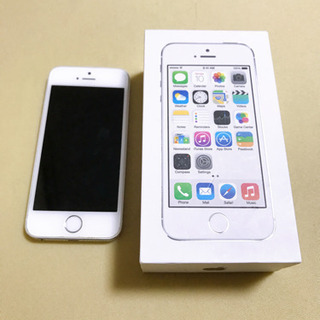 iPhone 5s Silver 32 GB au
