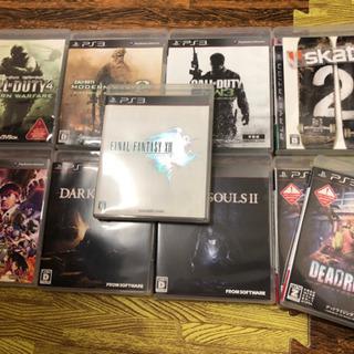PS3 ゲームソフト 10本 9種
