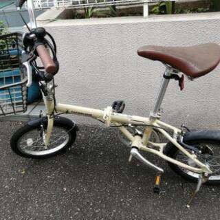 折りたたみ自転車 0円