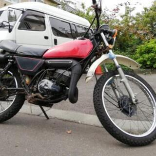 スズキ TS125 ハスラー 125cc登録