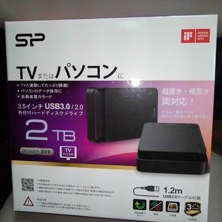 シリコンパワー 外付けハードディスク HDD 2TB USB3....