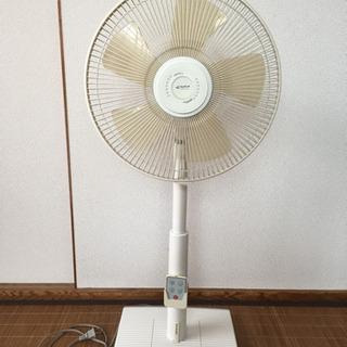 リモコン・アロマ機能付き扇風機 1000円