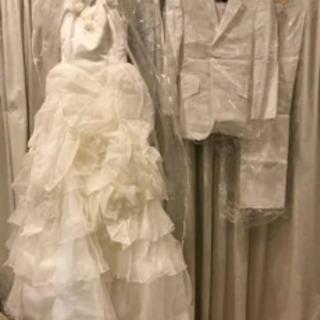 ウエディングドレス、タキシードセット☆