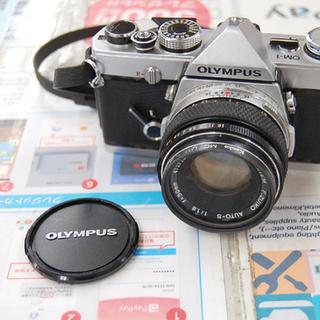 OLYMPUS 一眼フィルムカメラ MO-1 F.ZUIKO 5...