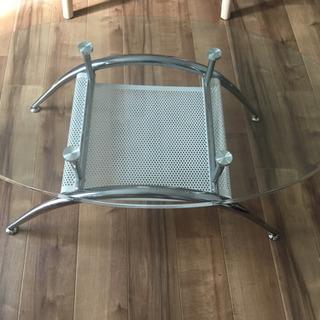 ニトリ ガラス テーブル ローテーブル