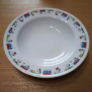 【差し上げます】スヌーピースープ皿