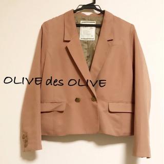 OLIVE des OLIVE テーラードジャケット ピンク