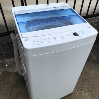 2018年製‼️Haierハイアール 4.5kg 全自動洗濯機 ...