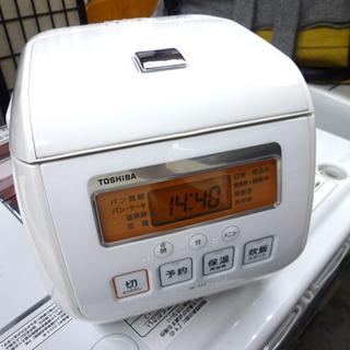 東芝 マイコン炊飯器 3合炊き 2016年製 RC-5SJ グラ...