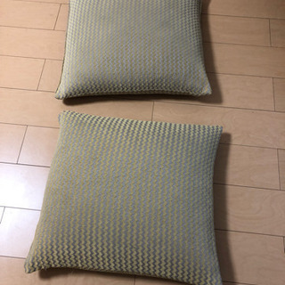 クッション 58cm × 53cm 2個 2019年ニトリ新品購入