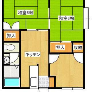 ☆大村市 便利な物件  3K  ネット、ガスコンロ付き☆11月か...