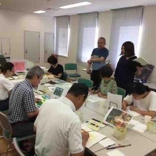 水彩画教室Pastel 高槻教室(高槻市高槻町)