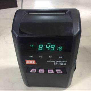 MAX タイムカードレコーダー