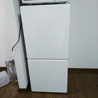 U-ING 2014年製110リットル2ドア冷蔵庫