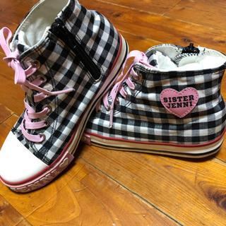 ジェニィ JENNI ハイカットスニーカー 靴 21cm