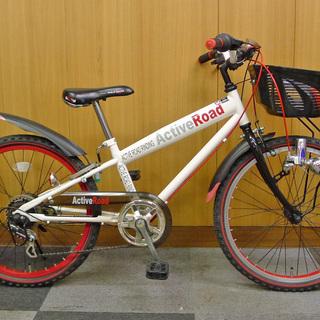 【値引不可】中古 22インチ 子供用自転車 マウンテンバイクルック