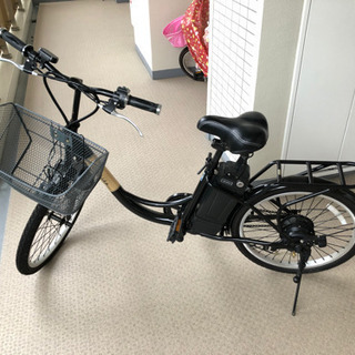 AirBike 22インチ電動アシスト自転車 引取限定 バッテリ...