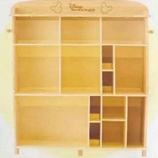 ディズニー ミッキー 棚 ブックケース