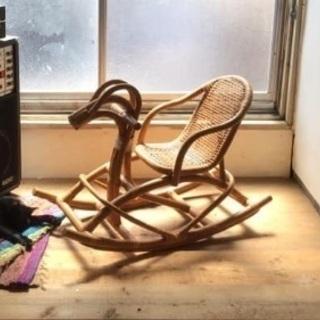 子供用揺れる椅子