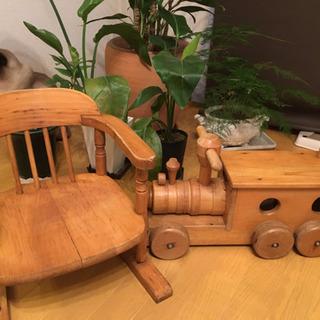 木製ベビーチェア&汽車ぽっぽ(11/5迄)
