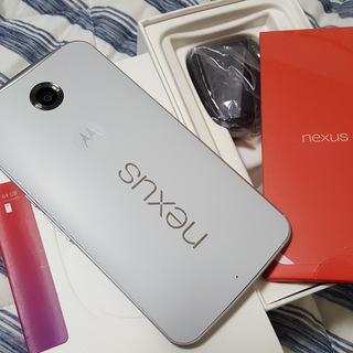 nexus6 simフリー 64GBモデル ほぼ新品