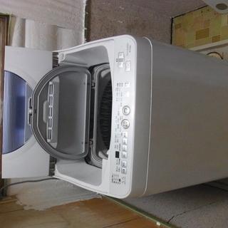 【ジャンク】シャープ洗濯機 ES-TG55L-A