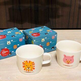 アニマルデプトマグカップ(二個セットあり) 新品