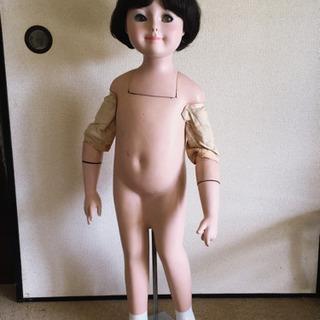 『譲ります!』骨董品 子どもマネキン 高さ100cm
