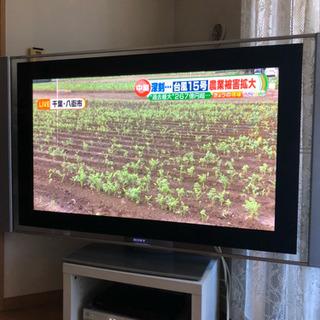 引っ越しつき急募50型テレビ