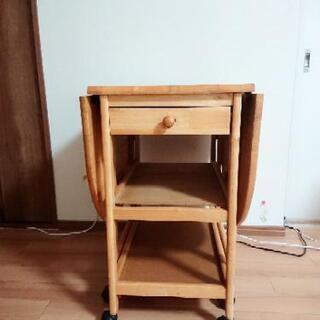 折り畳み式  キッチンワゴン