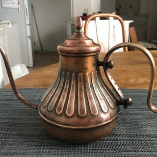【さらにお値下げしました!】Kalita純銅コーヒーポット