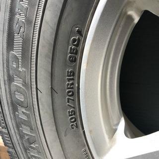ダンロップスタッドレスタイヤ4本 - 車のパーツ