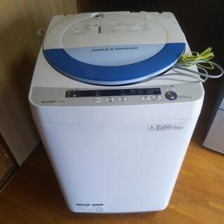 【値下げ❗️】美品❗️SHARP全自動電気洗濯機【型式ES-GE...
