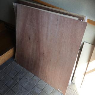 ベニヤ板 未使用 7枚  (1枚100円)