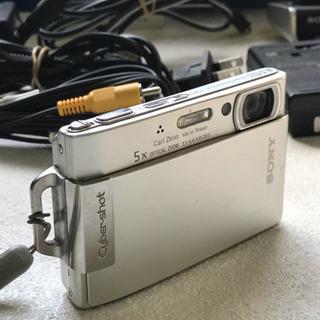 値下げ ソニーデジタルカメラ DSC-T200とCSS-HD1 ...
