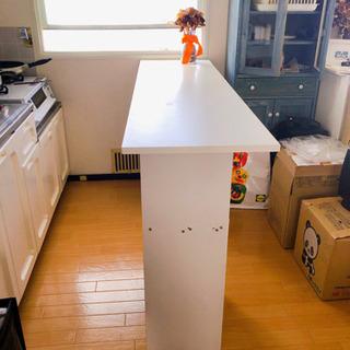 お話中です。あげます!手作りキッチンカウンター