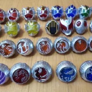 仮面ライダー ウィザードリング 31個