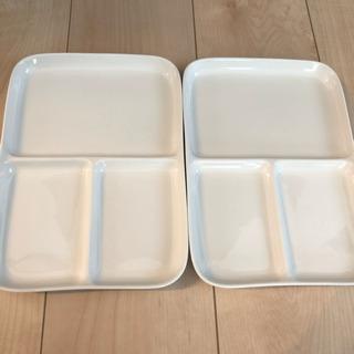 無印 プレート皿2枚セット