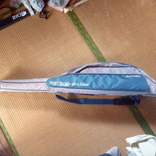 釣り道具)中古)投釣り用竿袋 SASAKI