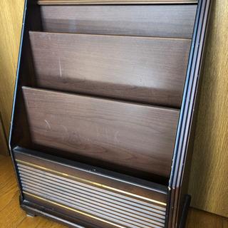 コイズミ製 木製マガジンラック