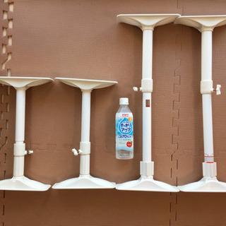 【定価3,000円】家具 転倒防止伸縮棒 突っ張り棒 4本セット