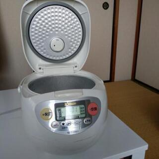 5.5合炊き炊飯器(古いですが、)ZOJIRUSHI NS-SF...