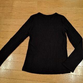 【新品】ZARA ザラ☆スキッパー デザイン リブ カットソー 長袖  - 売ります・あげます