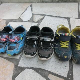 靴 スニーカー 子供 キッズ 17センチ