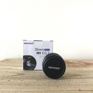 〈 送料負担します 〉NEEWER 単焦点レンズ F1.7 35...