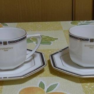 値下げ!GIVENCHY(ジパンシ)コーヒーカップ2客で400円