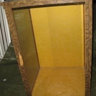 ガラスケース 日本人形のガラスケース 中古品 500円