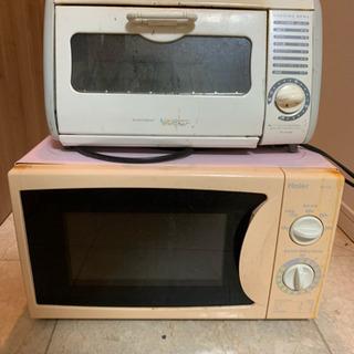 電子レンジ+トーストオーブン