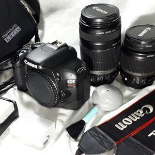 Canon EOS Kiss X4 ダブルレンズ 美品