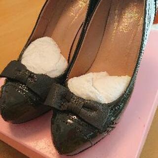 ヒール靴23,5